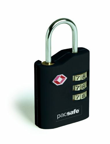Pacsafe Prosafe 700 - Candado con combinación numérica (aprobado por la TSA)
