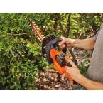 BLACK+DECKER 22 in. 20-Volt Max Lithium-Ion Cordless POWERCUT Hedge Trimmer with 1.5 Ah SMARTECH Battery and Charger Included by BLACK+DECKER