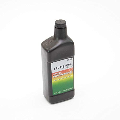 Craftsman 49028 Snowblower Engine Oil Genuine Original Equipment Manufacturer (OEM) Part