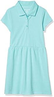 Amazon Essentials Girls' Big Short-Sleeve Polo D