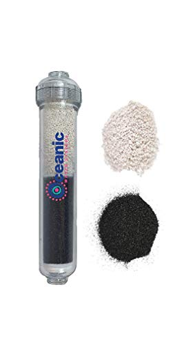 - Oceanic Dual Post Carbon (GAC) & pH Alkaline Water Filter Cartridge for RO Systems