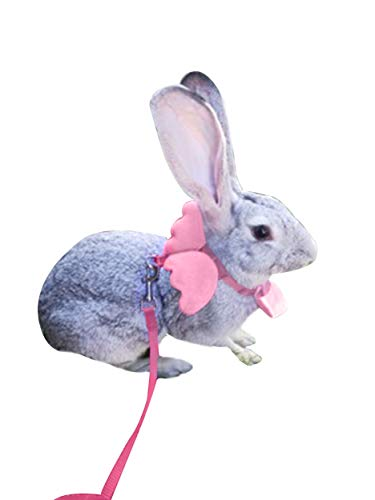 Used, FunPetLife Adjustable Rabbit Harness and Leash Set-Angel for sale  Delivered anywhere in USA