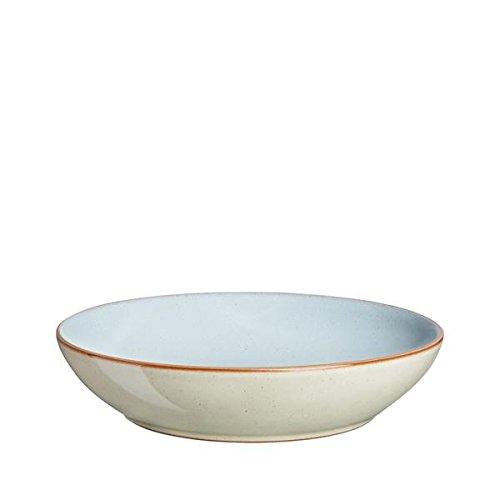 Denby Pasta Bowl, Pavilion Blue, Set of 4 ()