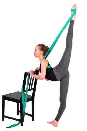 SuperiorStretch SUPERIORBAND - Ballet Stretch Band for Dance & Gymnastics Training (Stretch Bands For Flexibility)