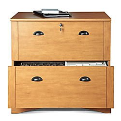 Ordinaire Realspace Dawson 2 Drawer Lateral File Cabinet, 29u0026quot;H X 30 1/