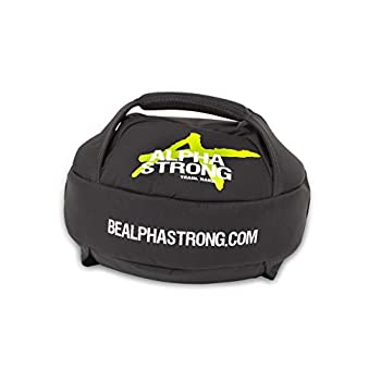 Image of ALPHA STRONG Sandbags (Thy Sandball 10-30 lbs, Green Logo)
