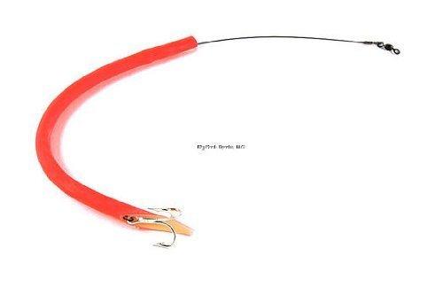 "Sea Strike CT12R Cuda Tube, 12"" Single 36557 Treble Hook, 60 Lb"