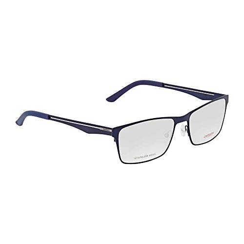 Carrera 7584 Eyeglasses-05R1 Semi Matte Blue -56mm