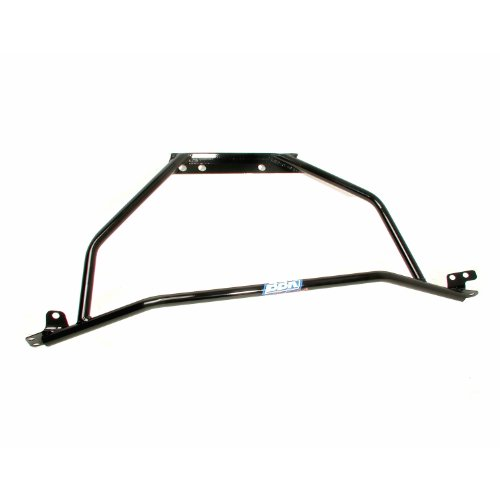 BBK 2516 Strut Tower Brace for Ford Mustang V6, Mustang GT - Tubular - Black Powdercoat Finish (V6 Mustang Parts)