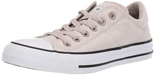 Converse Women's Chuck Taylor All Star Varsity Madison Low Top Sneaker, Papyrus/White/Black 10.5 M US