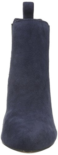 Clarks Carlita Quinn, Botines para Mujer Azul (Navy Suede)