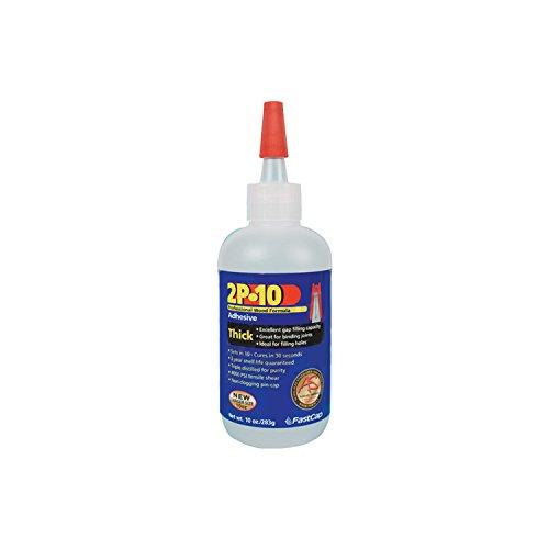 Fastcap 2P-10 Thick Adhesive, 10 oz Bottle