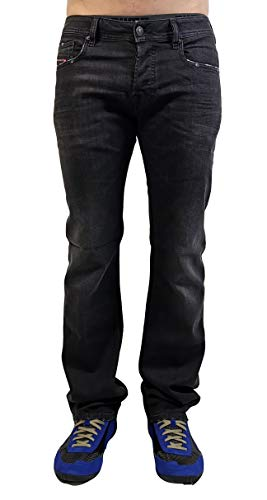 "Diesel ""Boot Cut Stretch-Jeans Zatiny 082AS Anthracite (30/32)"