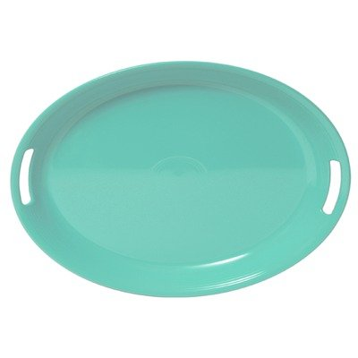 Fiesta Turquoise Oval Handled Serving Tray (Fiesta Serving Oval Platter)