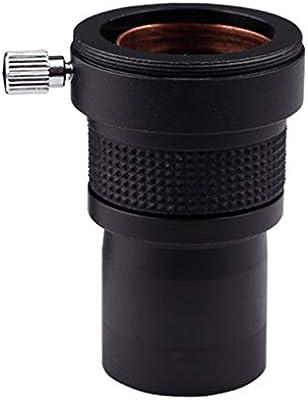 Lente Barlow 2X para el Ocular monocular del telescopio de astronom/ía 31.7 mm 1.25 Pulgadas