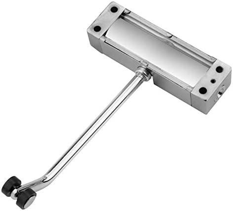 Easy to Install JKHK Light Duty Door Closer Springs Loaded Auto//Automatic Adjustable Surface Mounted for Light Weight Indoor Doors Fire Rated Door Channel