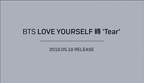 Price comparison product image Bts LOVE YOURSELF 'Tear' Photobook+Minibook+Photocard+Preorder poster, Gift+Standing photo+ Extra Photocard