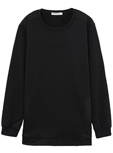 meters-bonwe-mens-solid-color-round-neck-long-sleeve-side-zipper-sweatshirt-black-xl