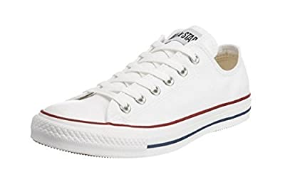 Converse Mens Chuck Taylor All Star Sneaker (9.5 D(M) US, Opitcal White)