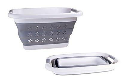 Amazoncom Adorn Home Essentials Collapsible Pop Up Laundry Basket
