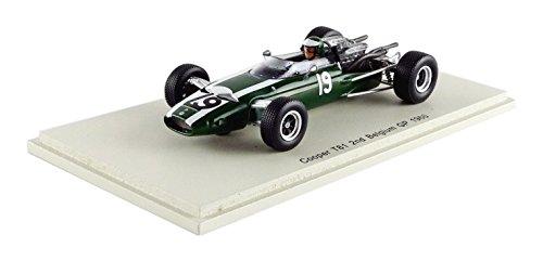 Spark – S4805 – Cooper – T81 – GP Belgien 1966 – Maßstab 1/43 – Grün/Weiß