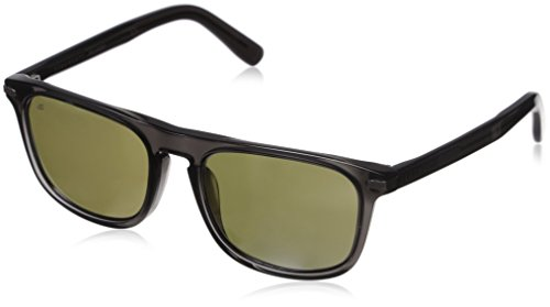 Serengeti 8157 Leonardo Sunglass, Dark Crystal Gray Frame, Polarized 555nm Lens by Serengeti