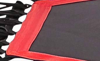Sportplus Silent Fitness Mini Trampoline - Replacement Mat (Red)