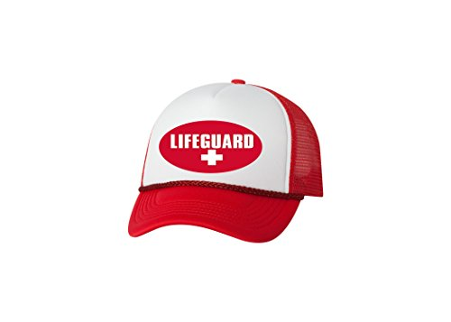 Rogue River Tactical Lifeguard Funny Trucker Hat Baseball Cap Retro Vintage Joke (Vintage Retro Hat)