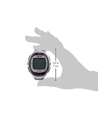 Amazon.com : Timex T5K629 Ironman Run Trainer GPS Watch - Silver ...