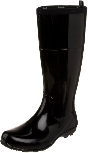 Kamik Women's Naomi Rain Boot,Black,10 M US