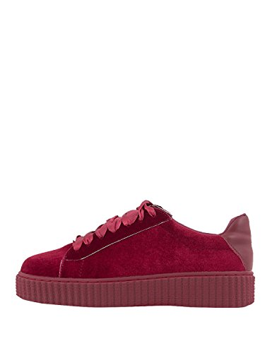 LOUVEL Women Sneakers Red in Size US 7