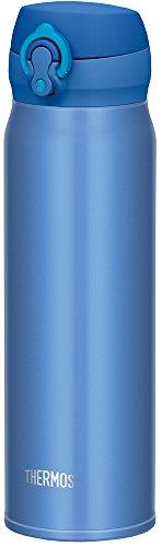 サーモス 水筒 真空断熱ケータイマグ 【ワンタッチオープンタイプ】 0.6L メタリックブルー JNL-602 MTB