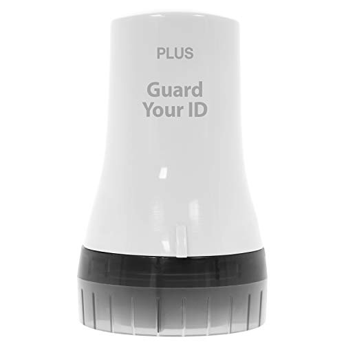Guard Your ID Advanced Wide Roller Identity Theft Prevention Security Stamp White (38491)