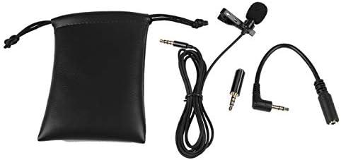 Clipon microfoon Responsieve afgeschermde trekkabel Zeer gerestaureerde reversmicrofoon voor liveuitzending voor het zingen van liedjes