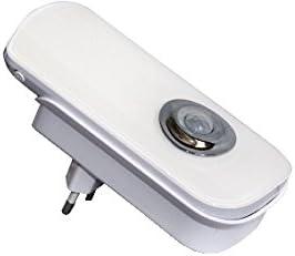 23.0220.50 Cod LAMPADA ANTI BLACK-OUT E TORCIA RICARICABILE Luce notturna con sensore pir di movimento notturno Ideale per accensioni automatiche di corridoi. LUCE NOTTURNA A LED CON SENSORE PIR