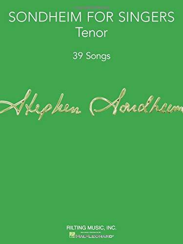 sondheim for singers tenor 39 songs