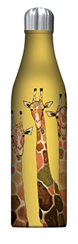 Giraffe Gift - Studio Oh! 25 oz. Insulated Stainless Steel Water Bottle Available in 10 Designs, Eli Halpin Giraffe