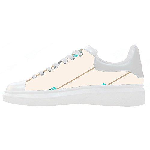 Custom Le Scarpe Scarpe Women's Freccia Schema Canvas Shoes rgqxr6Pw