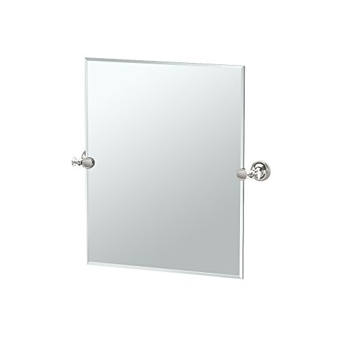 Gatco 4129SM Tavern Small Rectangle Mirror, Polished -