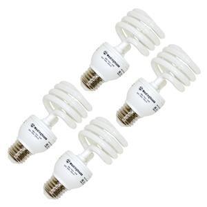 Westinghouse 37954 - 18MINITWIST/65/4PK Compact Fluorescent Daylight Full Spectrum Light Bulb