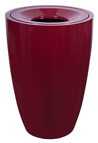 Lixeira Fibra Vidro Astra Vermelho