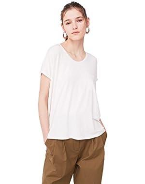 Mango Women's Pocket T-Shirt