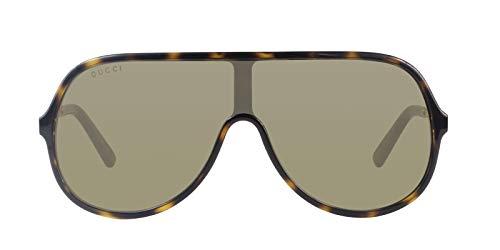 1c791a3fc7a11 Gucci Brown Rectangular Sunglasses GG0199S 003 99
