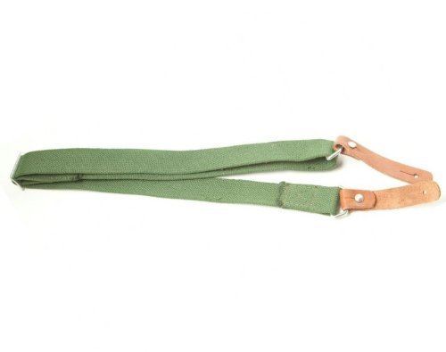 Ultimate Arms Gear Two 1'' Inch Slot Loop Wood Screws Swivels with Spacers + Traditional Canvas Sling, OD Olive Drab Green Ruger 1022 10/22 10-22 Mini-14 SR556 SR22 Rifle by Ultimate Arms Gear (Image #6)