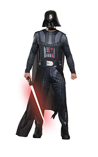 Star Wars Men's Classic Darth Vader Costume, Multi, Standard ()