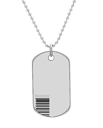 Barcode Personalized Pet ID Dog Tags Key Chain Medical Pet Tag Dog Tag (Barcode Key Tags)