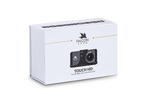 Falcon Zero Touch PRO HD Dash Cam [TOUCH SCREEN] 1080p 24/7 Surveillance, Multi Vehicle Use, 32 GB SD Card Included by Falcon Zero (Image #6)