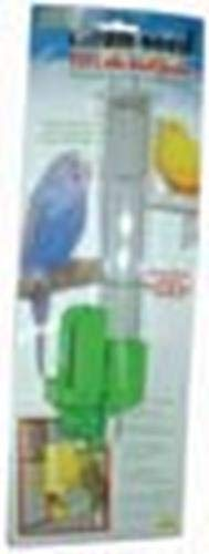 (JW Pet Company Clean Seed Silo Bird Feeder Bird Accessory, Tall (Colors Vary))