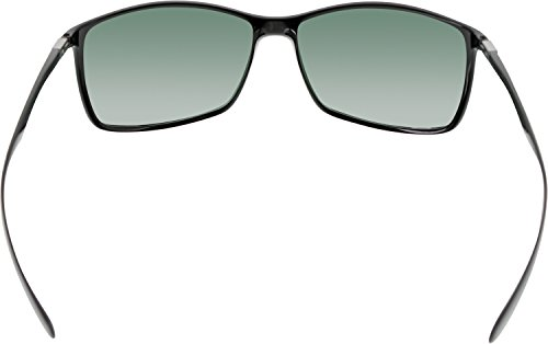 65d65ff4daa Ray-Ban Liteforce Classic Rectangle Sunglasses in Black Green RB4179 ...