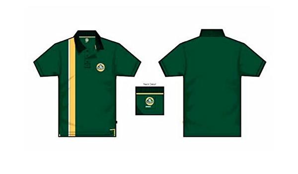 1 de Fórmula Uno Polo Team Lotus F1 – Nuevo. GREEN Stripe
